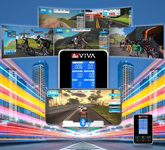 Indoorcycle mit Sportcomputer