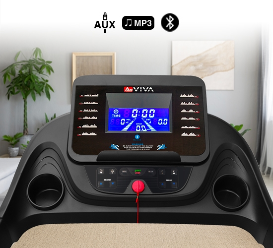 Fitnesscomputer AsVIVA Laufband T16