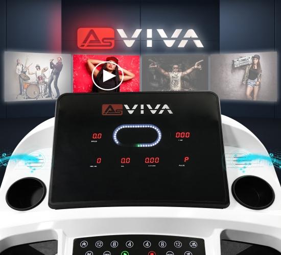 Laufband AsVIVA T20 Fitnesscomputer