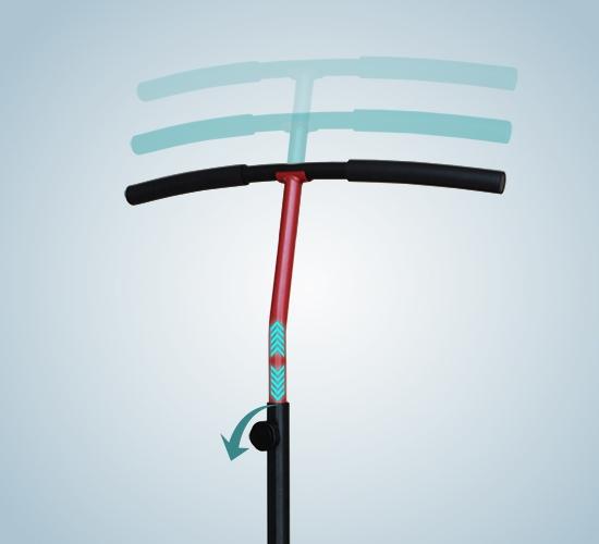 Trampolin mit Haltegriff