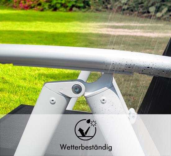Gepolstert und UV-beständiger Gartenstuhlbezug
